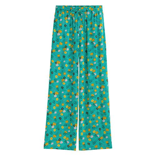 迪士尼系列寬版長褲-女