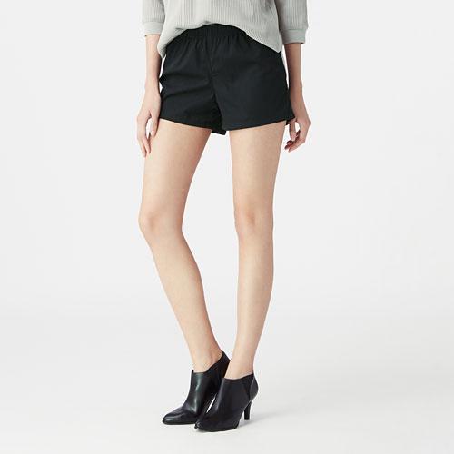 棉質輕便短褲-女