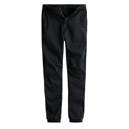 棉質彈性束口褲-女