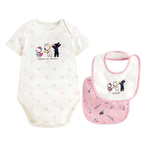 Hello Kitty X麗莎和卡斯柏禮盒組(3入)-Baby