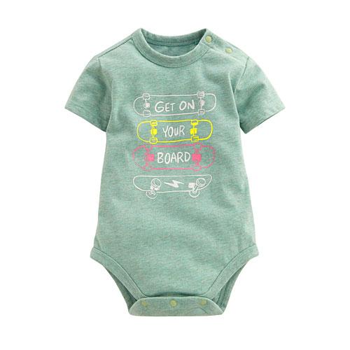 印花包臀衣-Baby