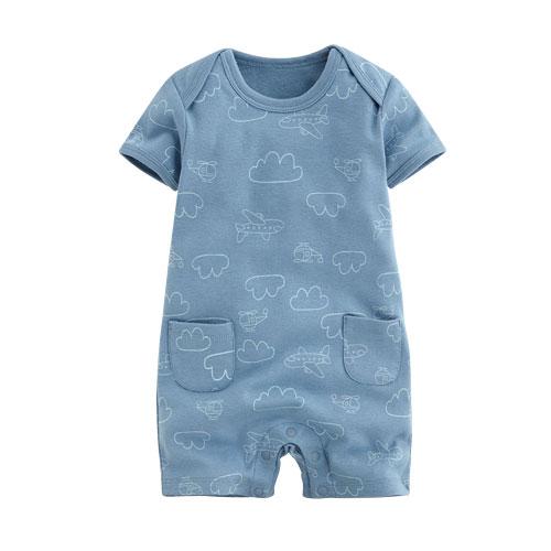 純棉羅紋印花連身衣-Baby