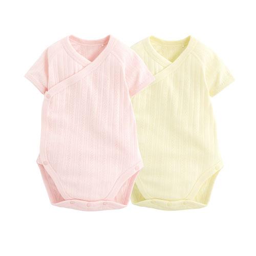 提花包臀衣(2入)-Baby