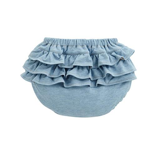 針織荷葉包臀褲-Baby