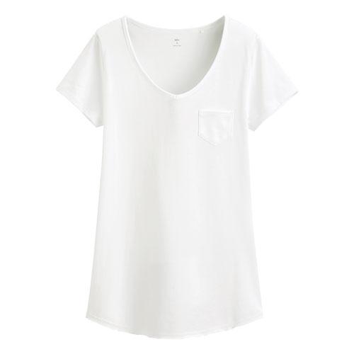 輕柔V領衫-女