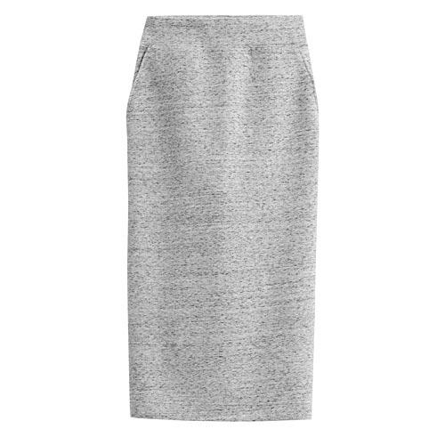 彈性加厚窄裙-女