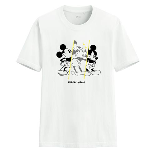 迪士尼系列印花T恤-45-男
