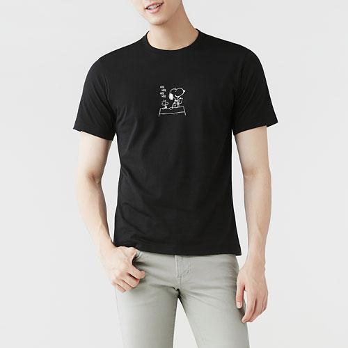 史努比印花T恤-03-男