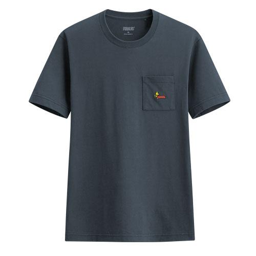 史努比口袋印花T恤-04-男