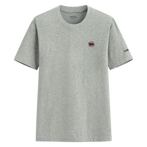 Keith Haring印花T恤-01-男