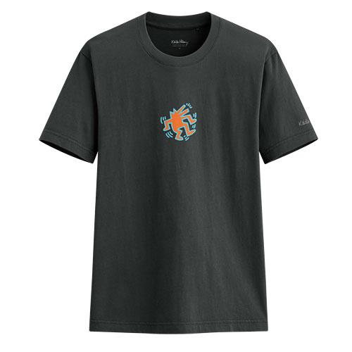 Keith Haring印花T恤-03-男