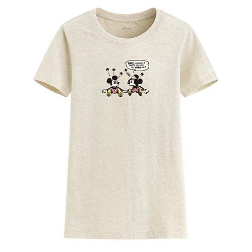 迪士尼系列印花T恤-52-女