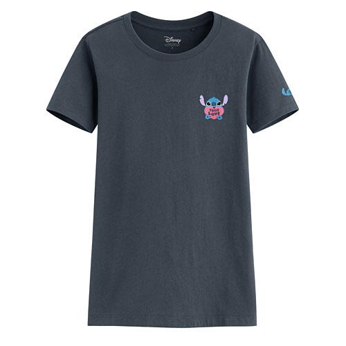迪士尼系列印花T恤-05-女