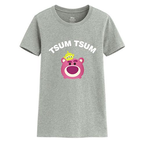 Tsum Tsum系列印花T恤-02-女