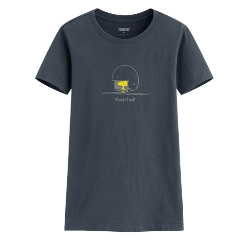 史努比印花T恤-01-女