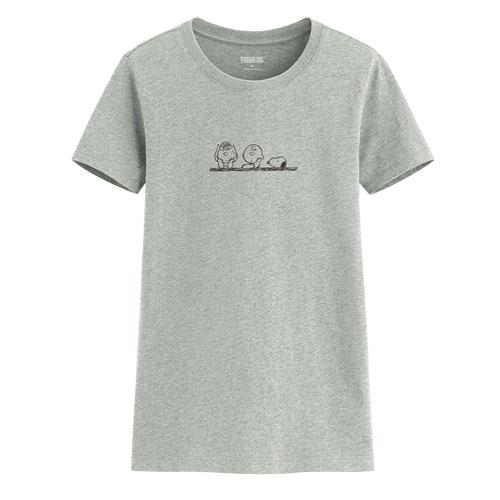 史努比印花T恤-11-女