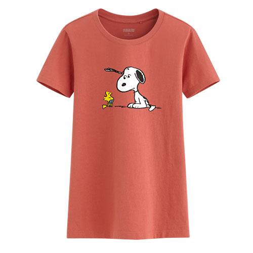 史努比印花T恤-12-女