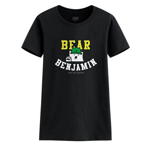 Polar Bear Benjamin印花T恤-01-女
