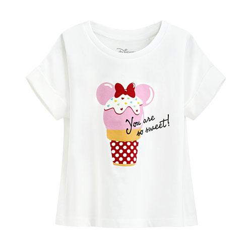 迪士尼系列短版印花T恤-28-童