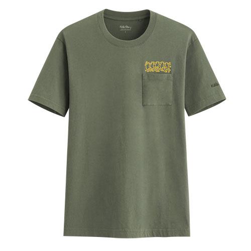 Keith Haring口袋印花T恤-04-男
