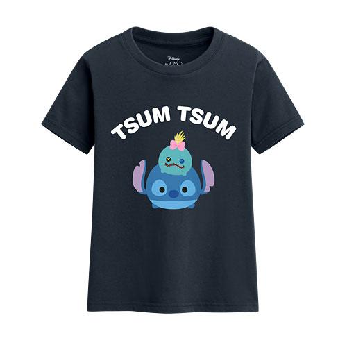 Tsum Tsum系列印花T恤-01-童