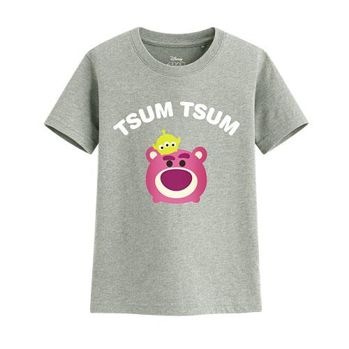 Tsum Tsum系列印花T恤-02-童