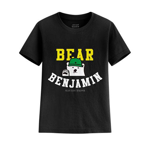 Polar Bear Benjamin印花T恤-01-童