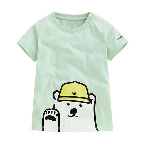 Polar Bear Benjamin印花T恤-06-Baby