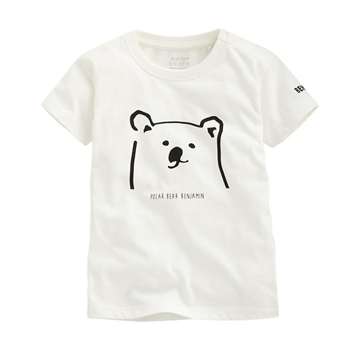 Polar Bear Benjamin印花T恤-02-Baby
