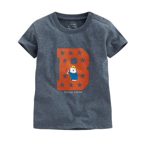 Polar Bear Benjamin印花T恤-08-Baby