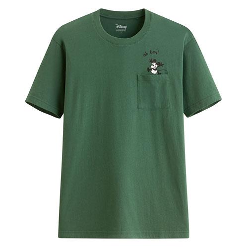 迪士尼系列口袋印花T恤-51-男