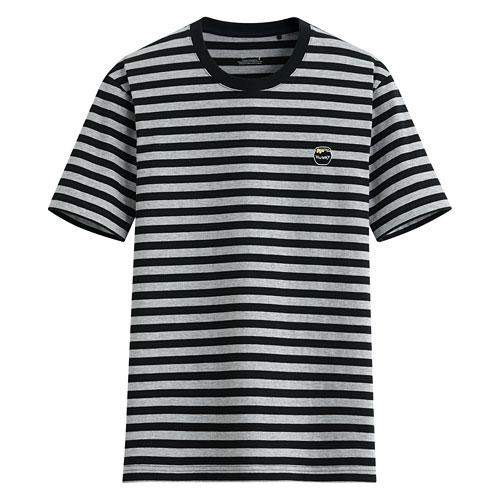 迪士尼系列條紋印花T恤-04-男