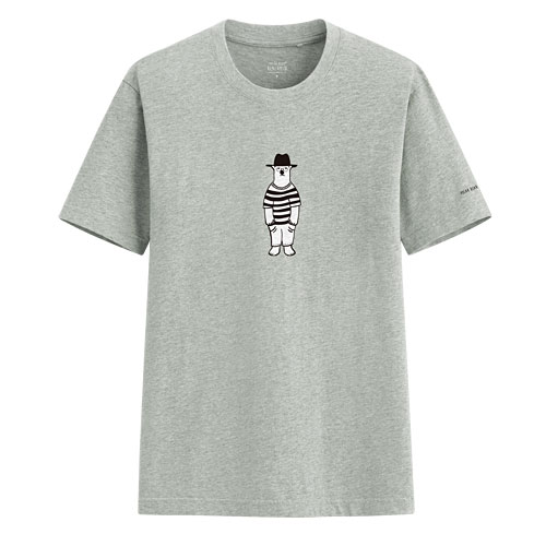 Polar Bear Benjamin印花T恤-03-男