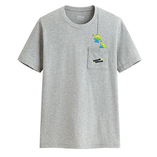 皮克斯系列口袋印花T恤-03-男