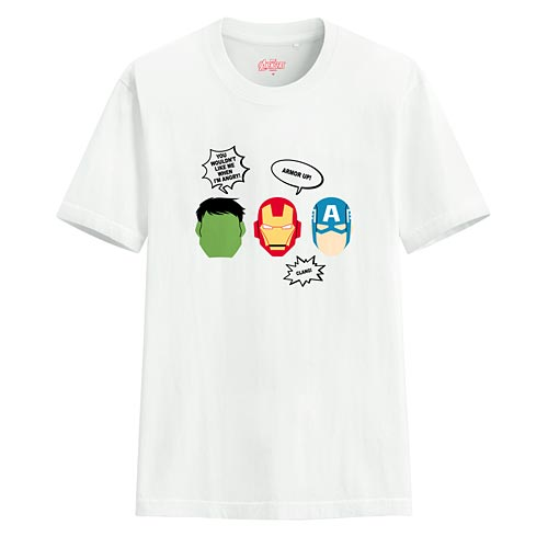 漫威系列印花T恤-04-男