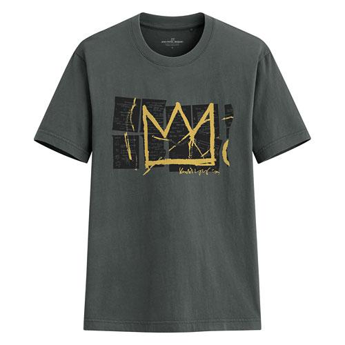 Jean-Michel Basquiat印花T恤-01-男