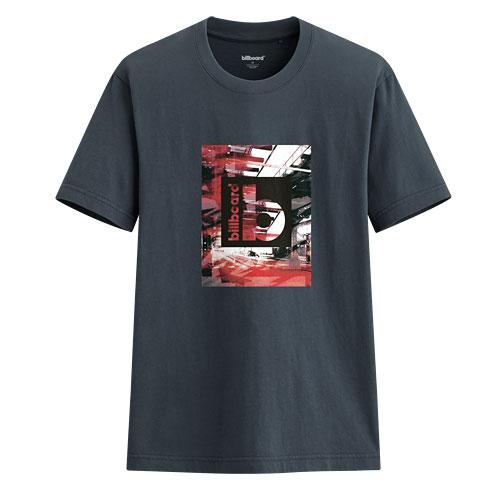 billboard印花T恤-03-男