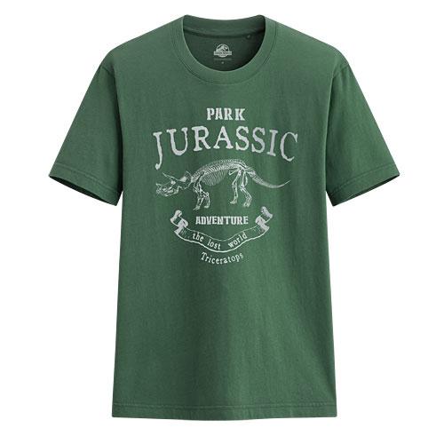 Jurassic World印花T恤-01-男