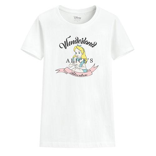 迪士尼系列印花T恤-12-女