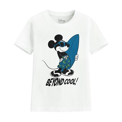 迪士尼系列印花T恤-36-童