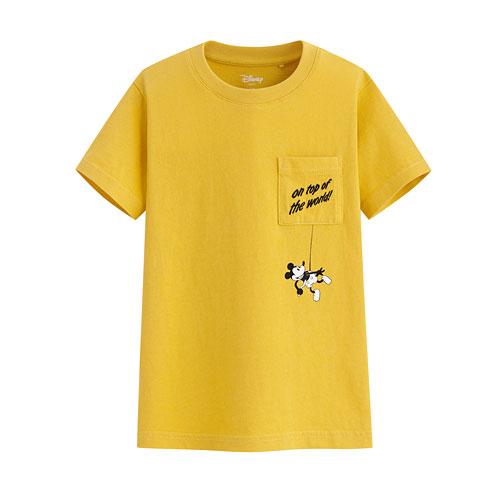 迪士尼系列口袋印花T恤-55-童