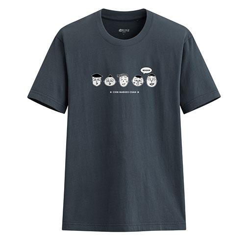 櫻桃小丸子印花T恤-01-男