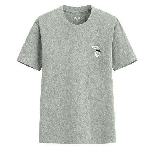 櫻桃小丸子印花T恤-03-男