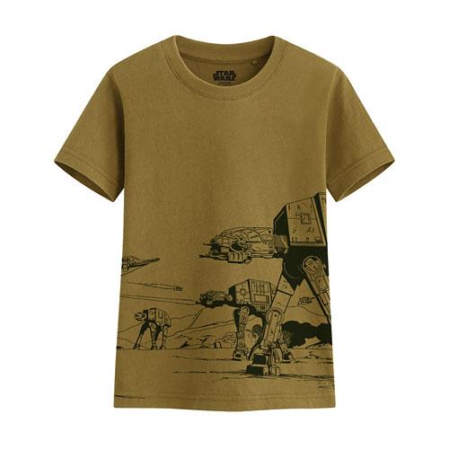 STAR WARS系列印花T恤-12-童