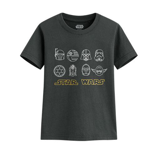 STAR WARS系列印花T恤-10-童