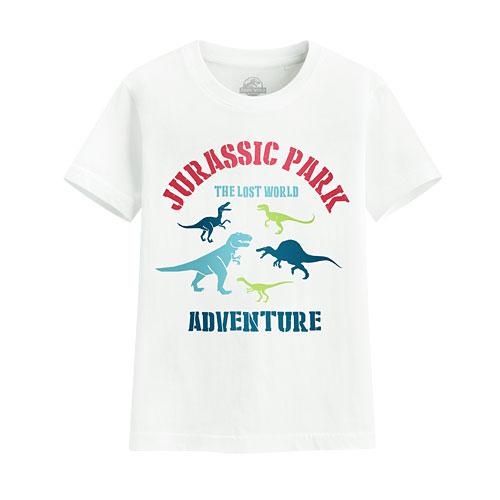 Jurassic World印花T恤-03-童