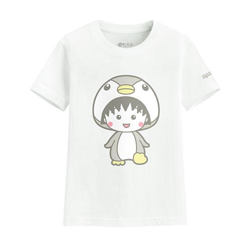 櫻桃小丸子印花T恤-05-童