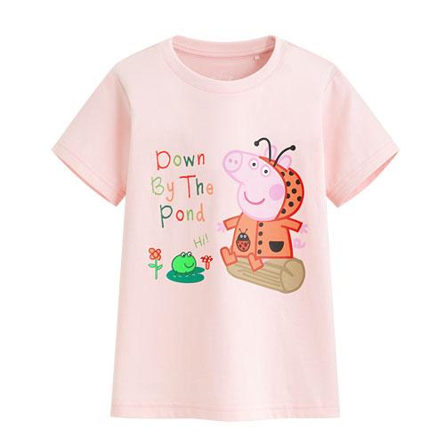 Peppa Pig印花T恤-02-童