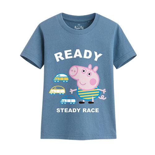 Peppa Pig印花T恤-04-童