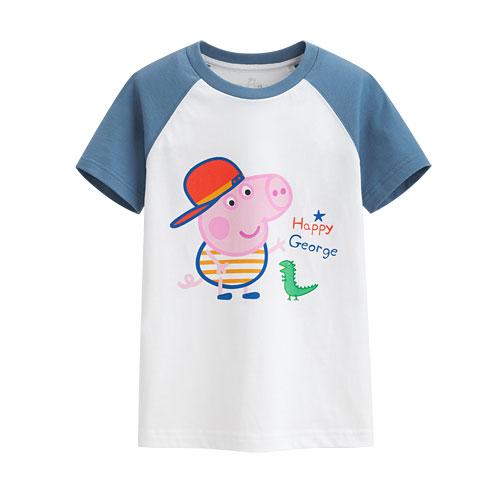 Peppa Pig印花T恤-05-童